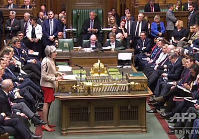 英議会、EU離脱案をまた否決 3度目の採決で 写真12枚 国際ニュース:AFPBB News