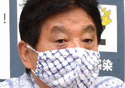 河村たかし名古屋市長、対外的公務を年末まで自粛 金メダル問題で   毎日新聞