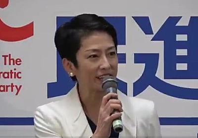 痛いニュース(ノ∀`) : 【動画】 蓮舫「仕事納めのはずなのに、明日は糸魚川の視察に行く事になりました。こんな日程をありがとう(笑)」 - ライブドアブログ